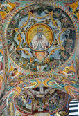 Wall painting at Rila Monastery church. The monastery is the largest in Bulgaria — Stock Photo