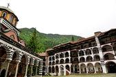 Rila Monastery.The largest Orthodox monastery in Bulgaria — Stock Photo