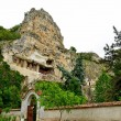 "Rock monastery ""St Dimitrii of Basarbovo"" in Bulgaria — Stock Photo #40137055"