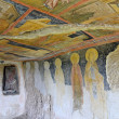 Frescoes in Rock-Hewn Churches of Ivanovo In valley of Roussenski Lom River, UNESCO World Heritage Site — Stock Photo #40137113