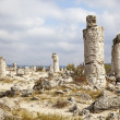 Stock Photo: Stone forest near Varna, Bulgaria. Pobiti kamni, rock phenomenon