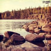 Beautiful northern landscape — Stock Photo