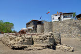 Ancient city of Sozopol in Bulgaria — Stock Photo