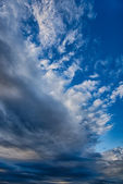 Colorful sky with clouds background. HDR image — Stock Photo