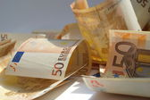 50 Euro Scheine (20) — Stock Photo