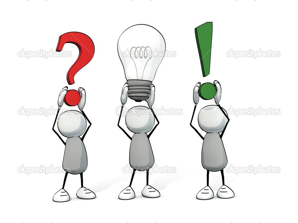 foto lampadina : ... domanda - lampadina - risposta ? Foto Stock ? lilu_foto #45264477
