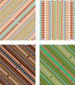 Geometrie pattern — Vettoriale Stock