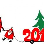 Christmas Sanata Claus — Stock Vector #14347687