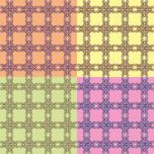 Seamless pattern wallpaper — Stock Vector