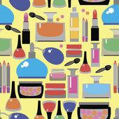 Women's accessories seamless pattern — Stock Vector