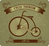 复古自行车 — 图库矢量图片