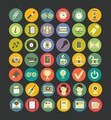 Social media web icons — Stock Vector