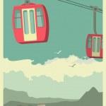 Постер, плакат: Cable Car