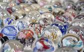 カラフルなガラス玉 — ストック写真