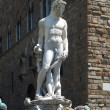 Stock Photo: Fountain of Neptune in Florence