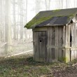 Old wooden shack — Stock Photo