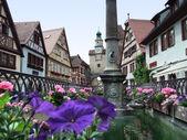 Rothenburg ob der Tauber — 图库照片