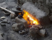 Archaic forge — Stock Photo