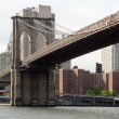 Around Brooklyn Bridge in New York — Foto de Stock