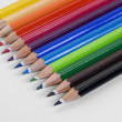 Coloured pencils — Stock fotografie #21410895