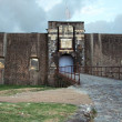 Stock Photo: Fortress in Guadeloupe