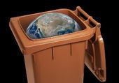 Wasted globe — Stock Photo