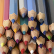 Colored pencil tips — Stock Photo #28857363