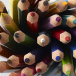 Colored pencil tips — Stock Photo #28857501