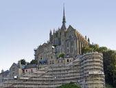 Abadía de mont saint michel — Foto de Stock