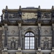 Historic building in Dresden — Foto de Stock