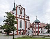 Historický kostel v drážďanech — Stock fotografie