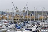 Pejzaż port — Zdjęcie stockowe
