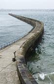 Pier at Saint-Malo — Stock Photo
