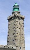 Lighthouse at Cap Frehel — Stock Photo