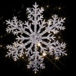 Photo: Twinkling snowflake