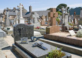 Breton cemetery — Stock Photo