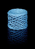Blue twine coil — Photo