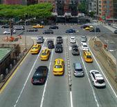 Traffic in New York City — 图库照片
