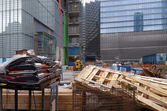 Building lot in New York — 图库照片