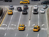 Traffic in New York City — 图库照片