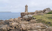 Lighthouse at Perros-Guirec — Foto de Stock