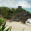 Stock Photo: El Castillo at Tulum