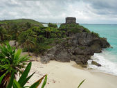 El Castillo at Tulum — Stock Photo