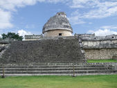 El Caracol observatory temple in Chichen Itza — Stock Photo