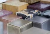 Various cubes detail — Stock Photo