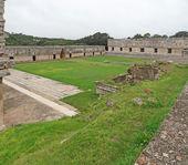 Mayan temple in Uxmal — Foto de Stock