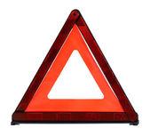 Triangular safety reflector — Stock Photo
