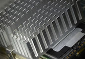 Heat sink — Stock Photo