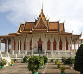 Royal Palace in Phnom Penh — Stock Photo
