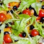 Fresh salad closeup — Stock Photo #7469395